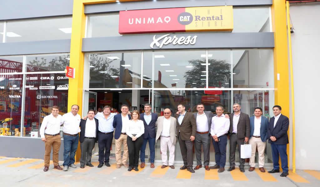 Unimaq inaugura en Trujillo la primera tienda 'retail' de equipos ligeros en Perú
