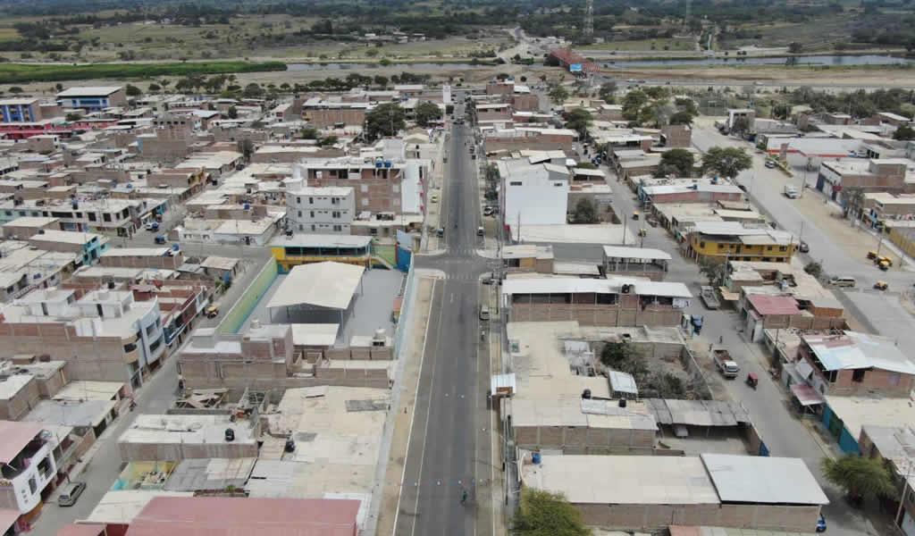 Inauguran obras viales de Reconstrucción con Cambios en Sechura por más de S/ 1 millón