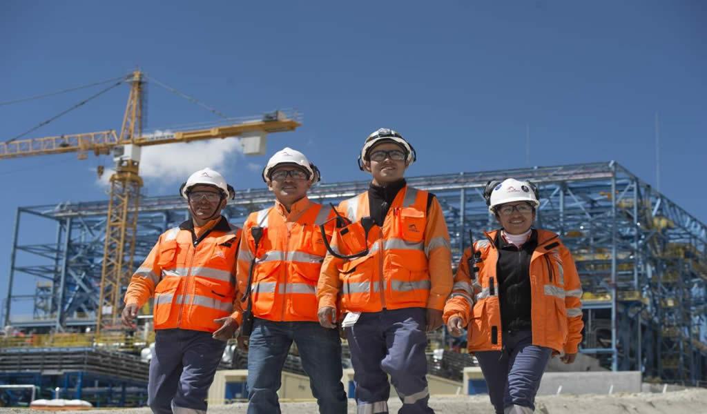 Empleo en minería registró avance interanual de 5% en setiembre 2019