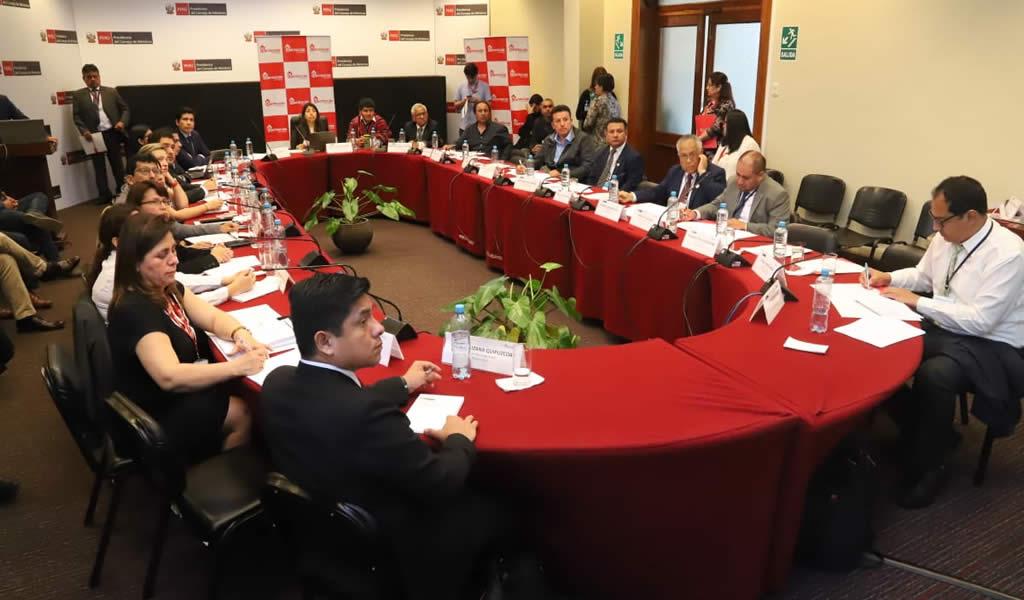 Autoridad para la Reconstrucción con Cambios presenta a gobiernos regionales estrategia para impulsar ejecución de obras