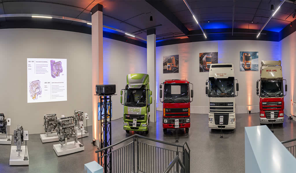 DAF presenta su renovado museo en Holanda