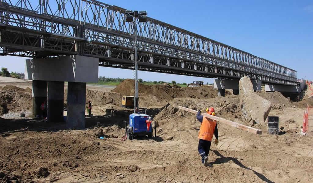 MTC concluirá construcción de cuatro puentes en Piura en marzo de 2020
