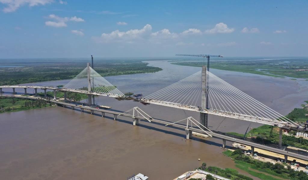 Inauguran el puente más ancho de Latinoamérica en Colombia