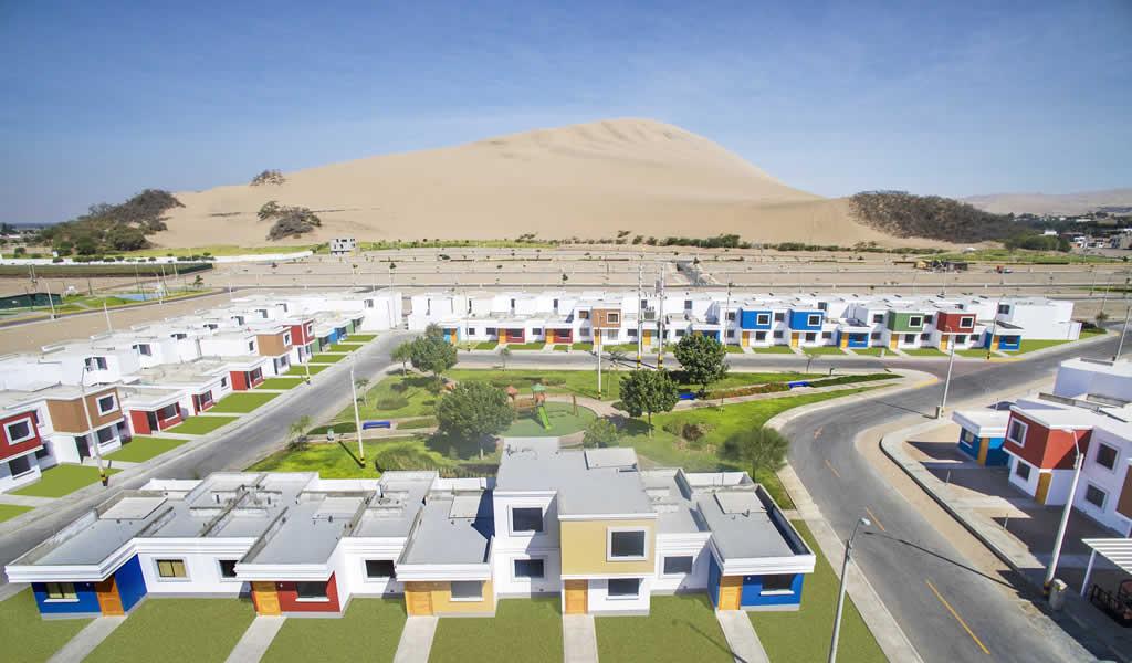 Entregan proyecto de casas ecosostenibles en Ica
