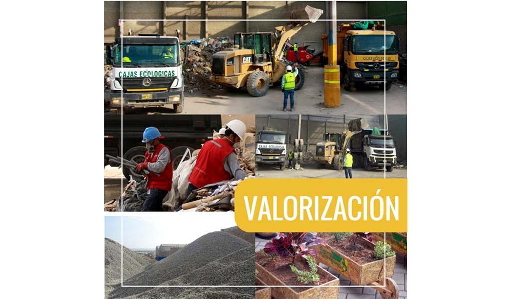 CAJAS ECOLÓGICAS - VALORIZACIÓN Y TRANSFERENCIA DE RESIDUOS SÓLIDOS NO PELIGROSOS DE CONSTRUCCIÓN Y DEMOLICIÓN