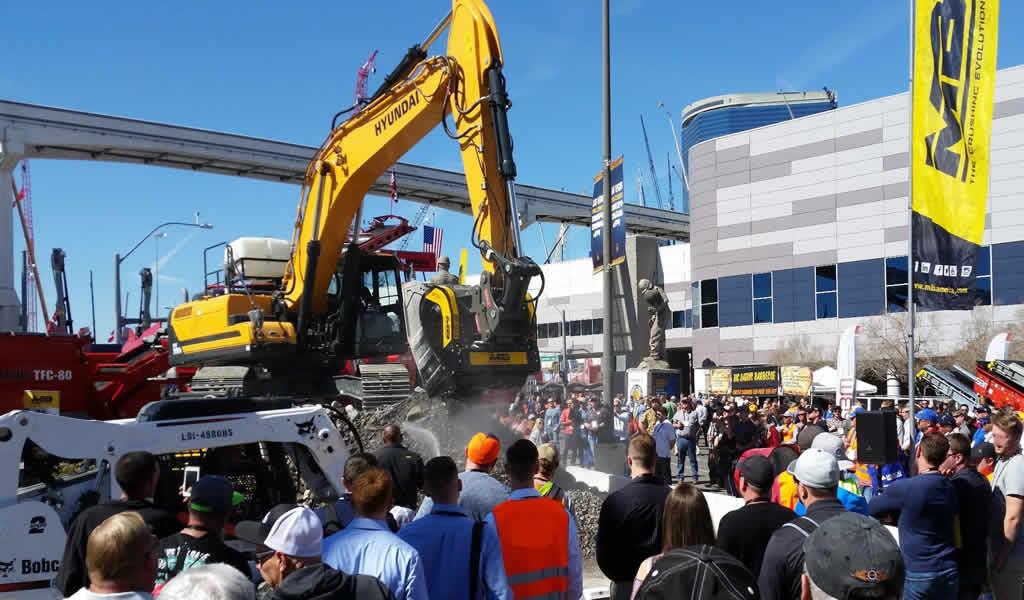 Construproductos: MB Crusher América se duplicará en Conexpo 2020