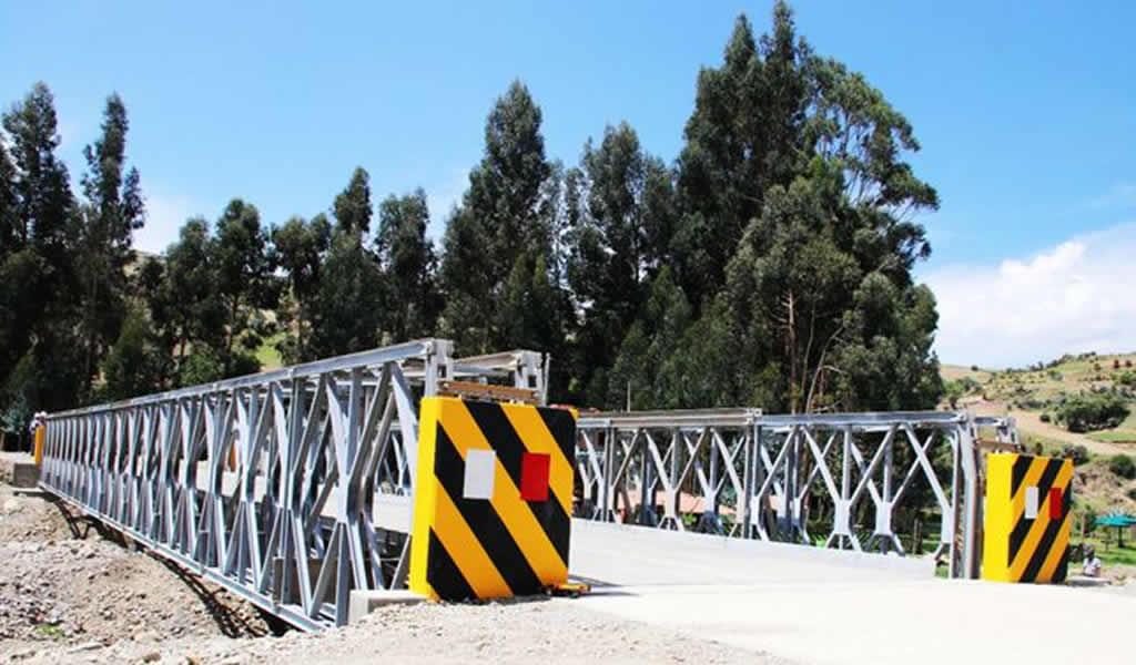 Reconstrucción con cambios: MTC invertirá 124 millones de soles en puentes modulares