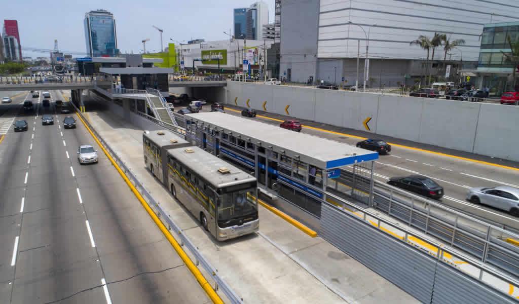 Municipalidad de Lima inauguró nueva estación del Metropolitano en San Isidro