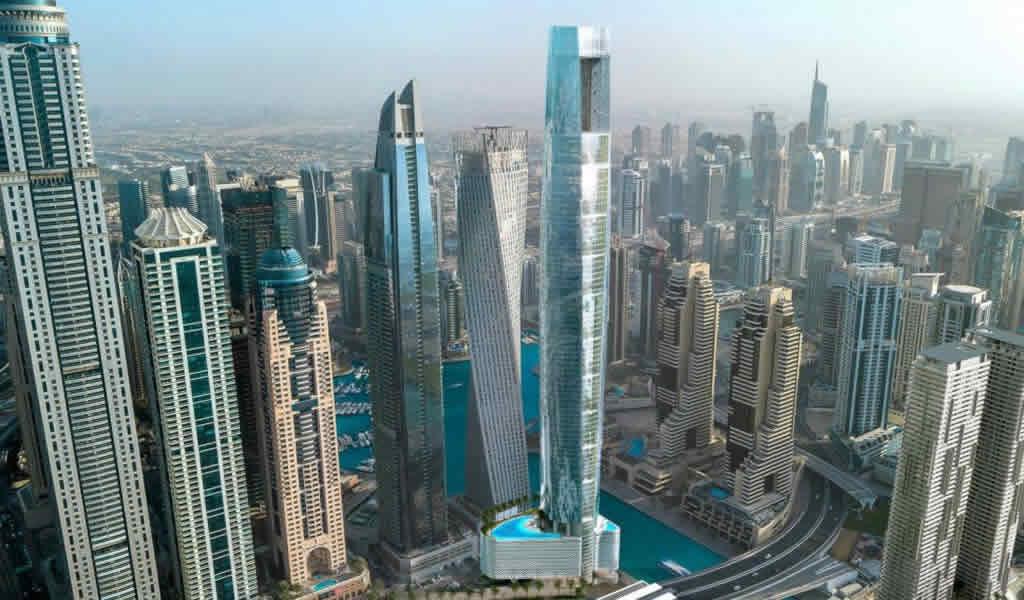 Inició la construcción del hotel más alto del mundo en Dubai