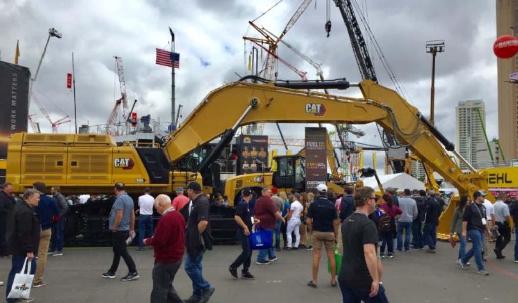 Caterpillar lanza nueve nuevas máquinas en Las Vegas
