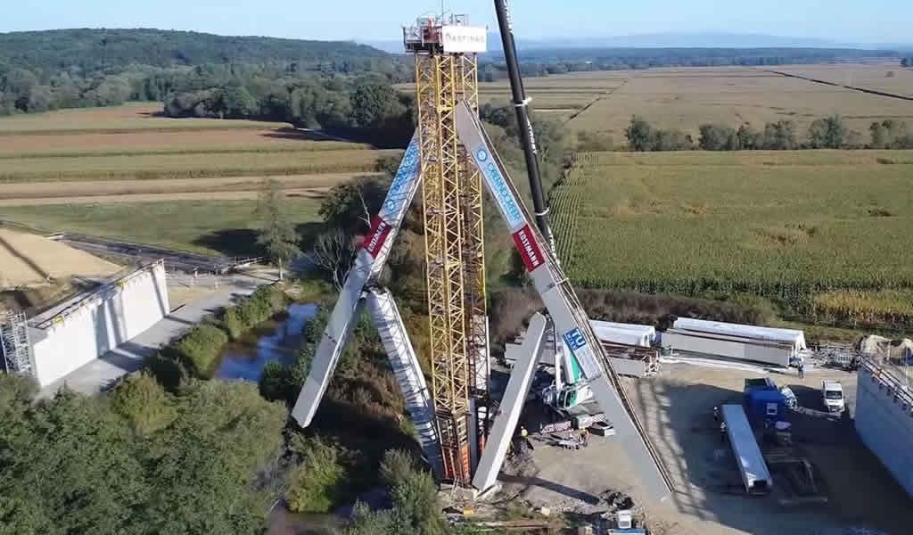 Puentes desplegables y concreto plegable, nuevas invenciones en la industria de la construcción