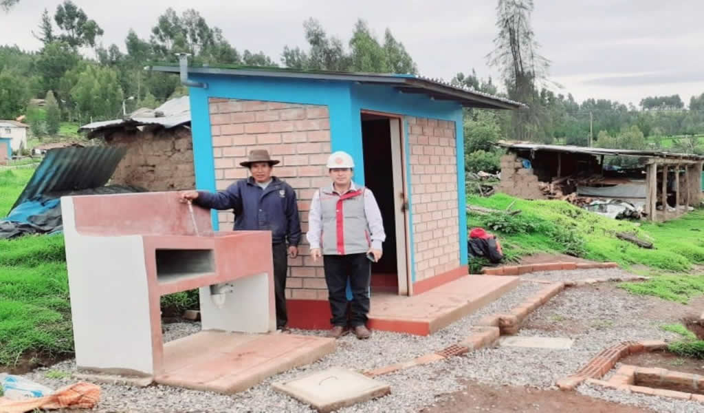Este año se prevé entregar más de 360 obras de saneamiento en zonas rurales del país