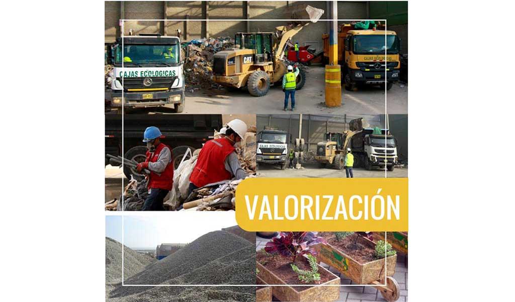CAJAS ECOLÓGICAS -Valorización y transferencia de residuos sólidos no peligrosos de construcción y demolición