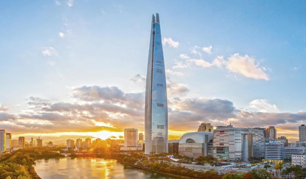 Innovaciones estructurales de la Torre Mundial de Lotte