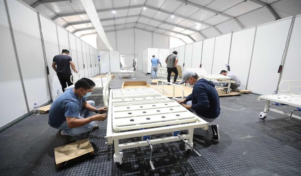 Se pone en marcha la construcción de hospitales de rápida instalación en regiones