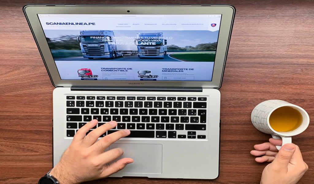 Scania del Perú lanza sucursal virtual con soluciones completas para el transporte pesado