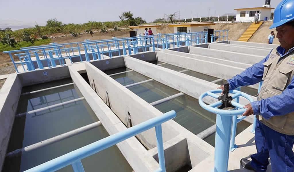 Invertirán más de S/ 52 millones para obras de agua y saneamiento en regiones del país