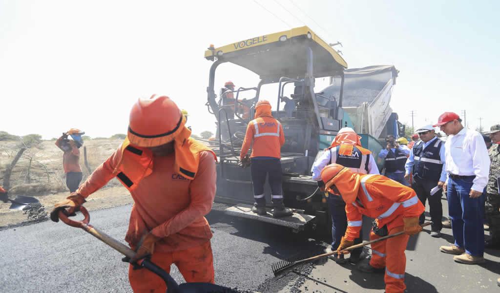 S/ 3,897 millones para mantenimiento de vías generará 570,000 empleos