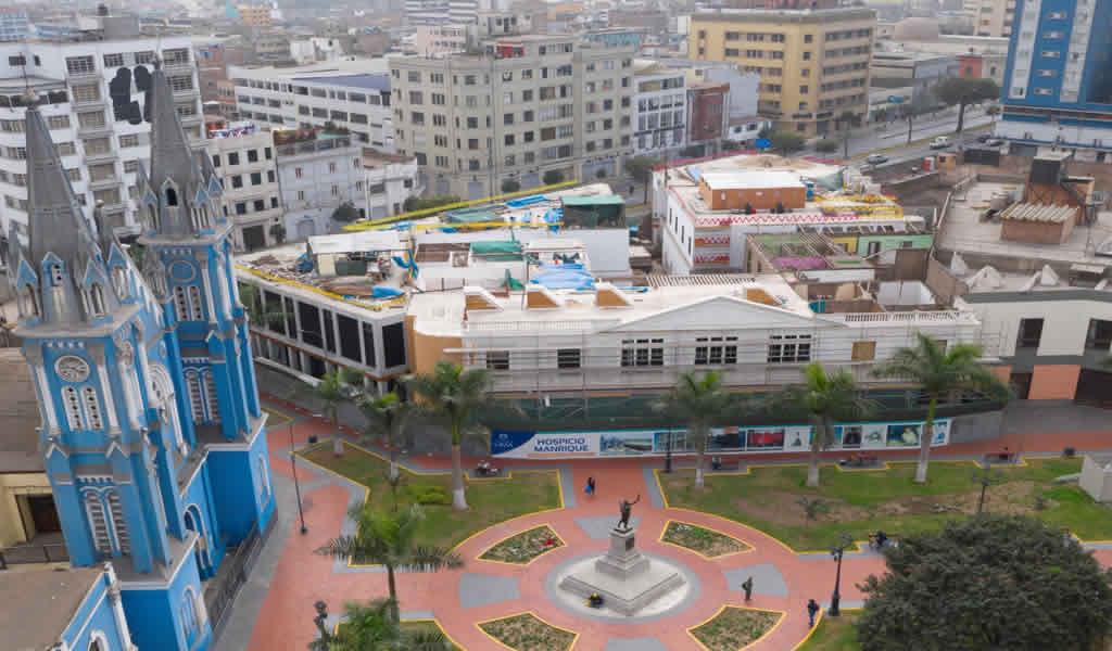 Municipalidad de Lima reinició obras de recuperación de histórico Hospicio Manrique
