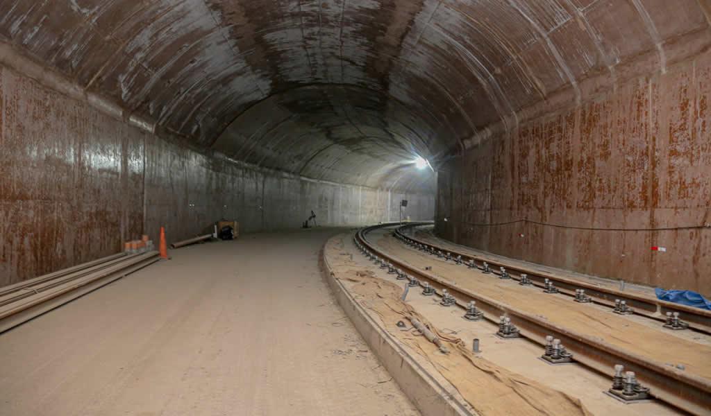 Primer tramo de línea 2 del Metro iniciará operaciones en primer semestre de 2021
