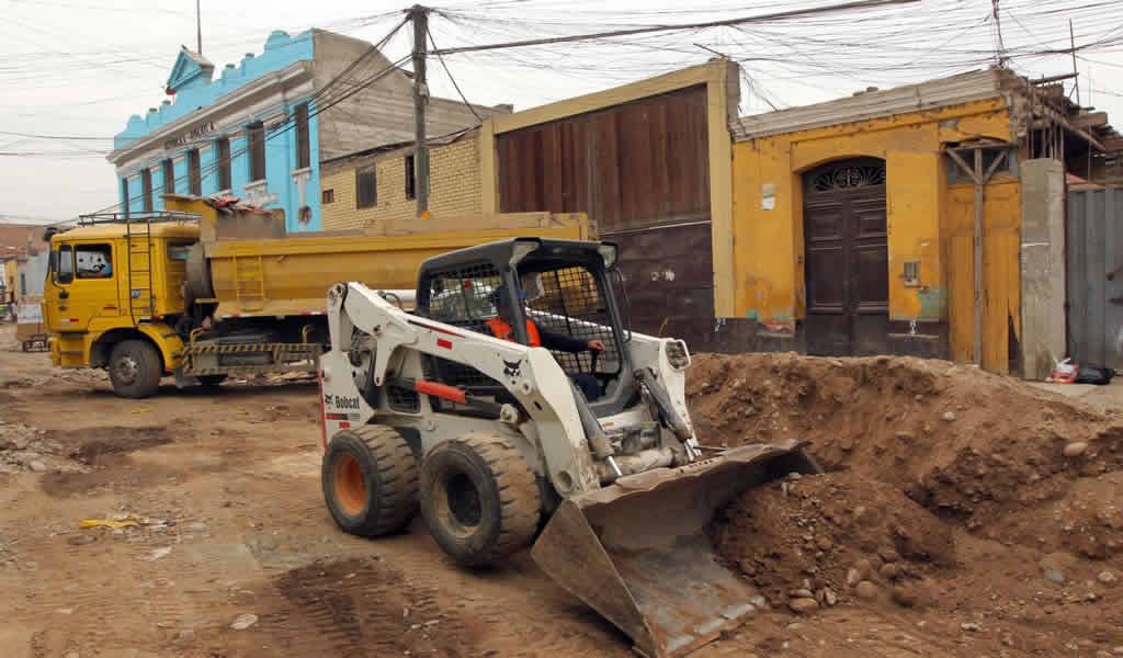 Mejorarán caminos vecinales de seis distritos de Chiclayo