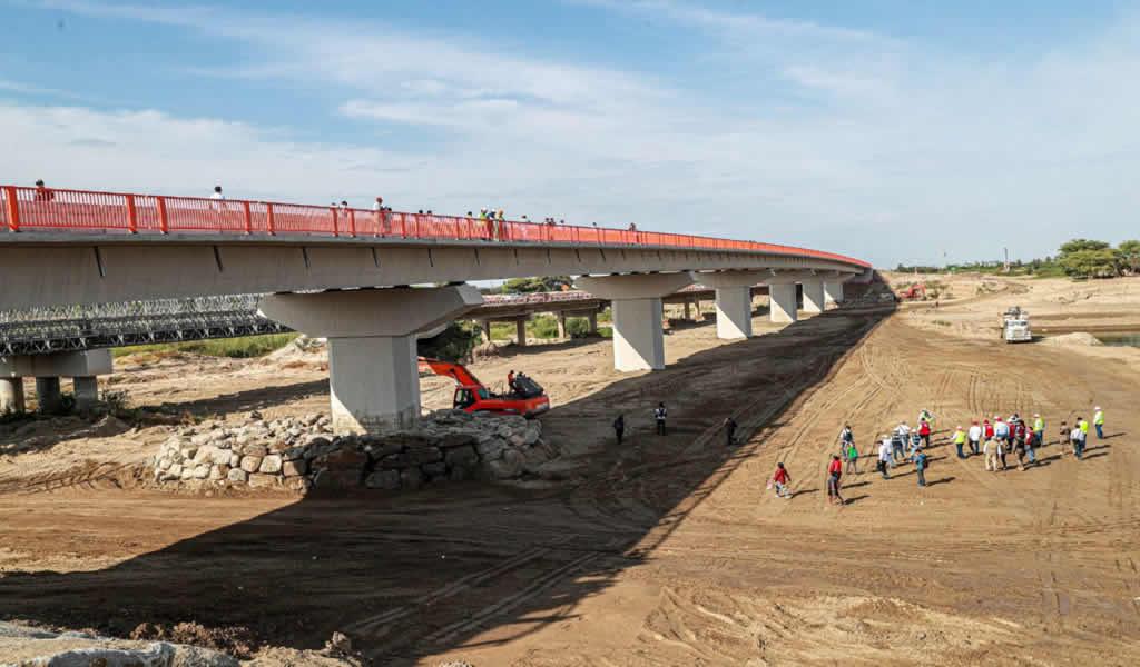 Reinician construcción de cuatro puentes definitivos en Tumbes