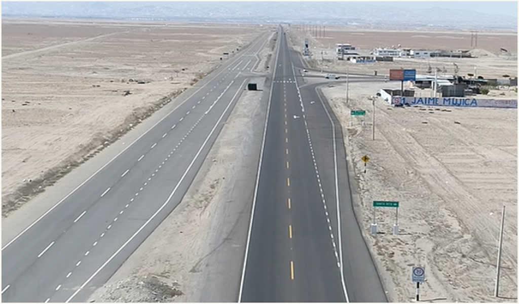 Entra en operación moderna autopista de 10 kilómetros en Arequipa