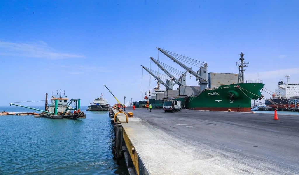 Avanza construcción del nuevo Terminal Portuario Multipropósito de Chancay