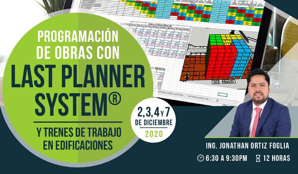 Programación de Obras con Last Planner System y Trenes de Trabajo en Edificaciones