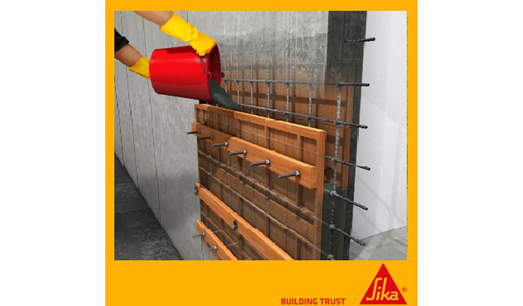SIKA PERÚ - Mortero Predosificado para Nivelación de Máquinas y Reparación de Estructuras