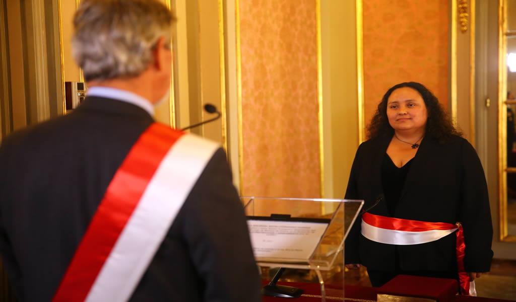 Solangel Fernández es la nueva ministra de Vivienda, Construcción y Saneamiento, cónoce su perfil profesional