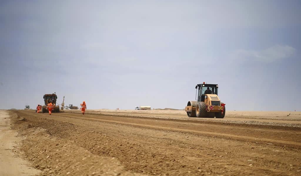 Con más de S/ 22 millones mejoran caminos rurales en la provincia de Lambayeque