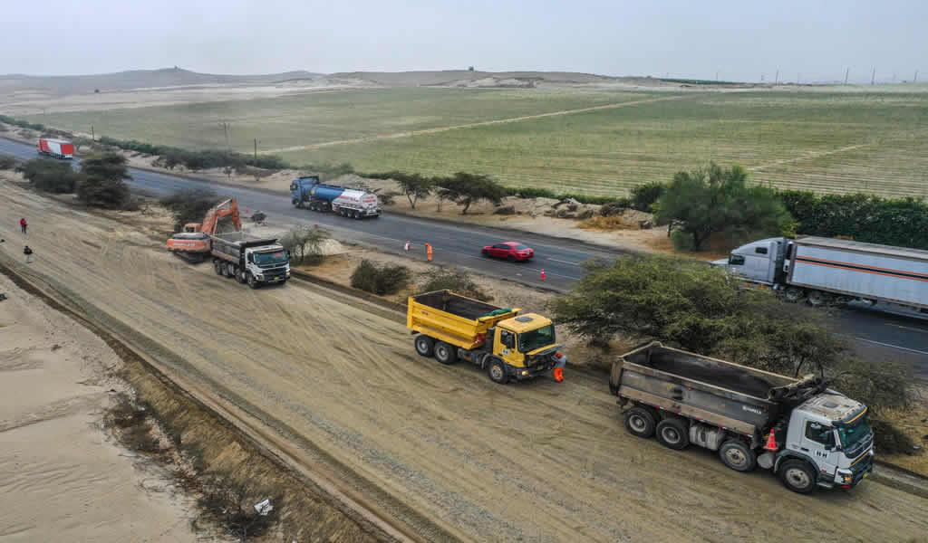 Inversiones en carreteras se incrementaron 135% en octubre