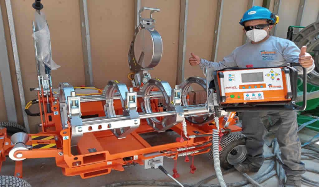 IGC amplía su stock de máquinas de termofusión Ritmo con equipos de alta presión y semiautomáticos