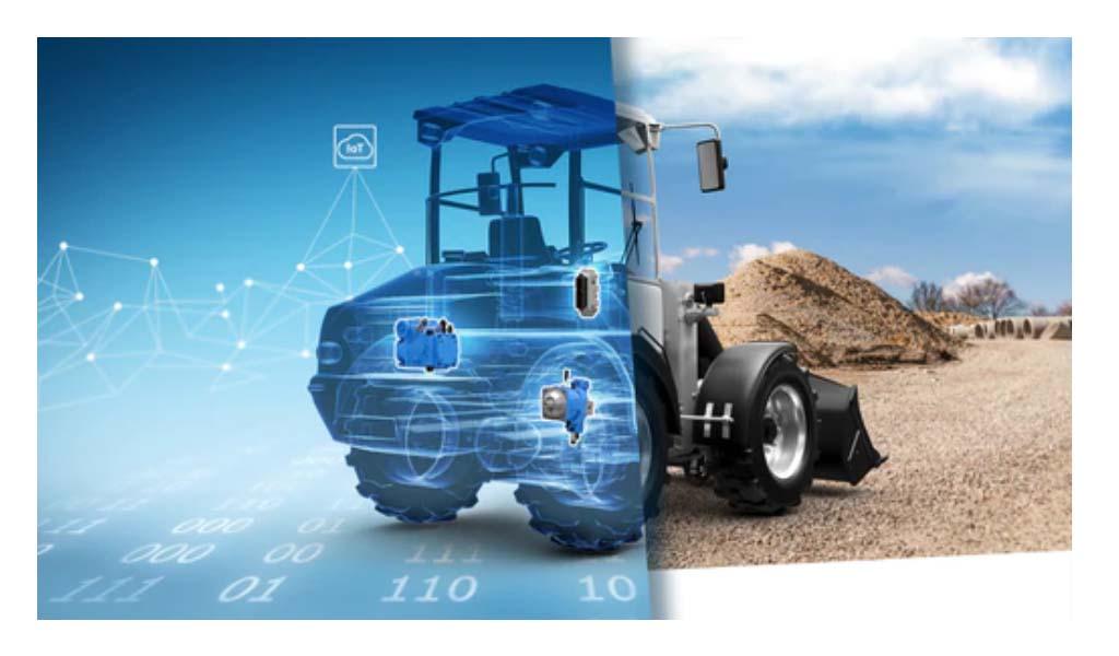 Los sistemas hidráulicos inteligentes mejoran la conectividad y el rendimiento de la máquina