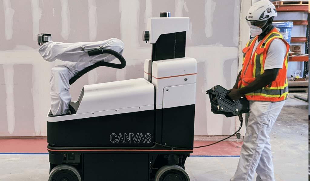 Robotics Startup Canvas recauda $ 24 millones para revitalizar la construcción