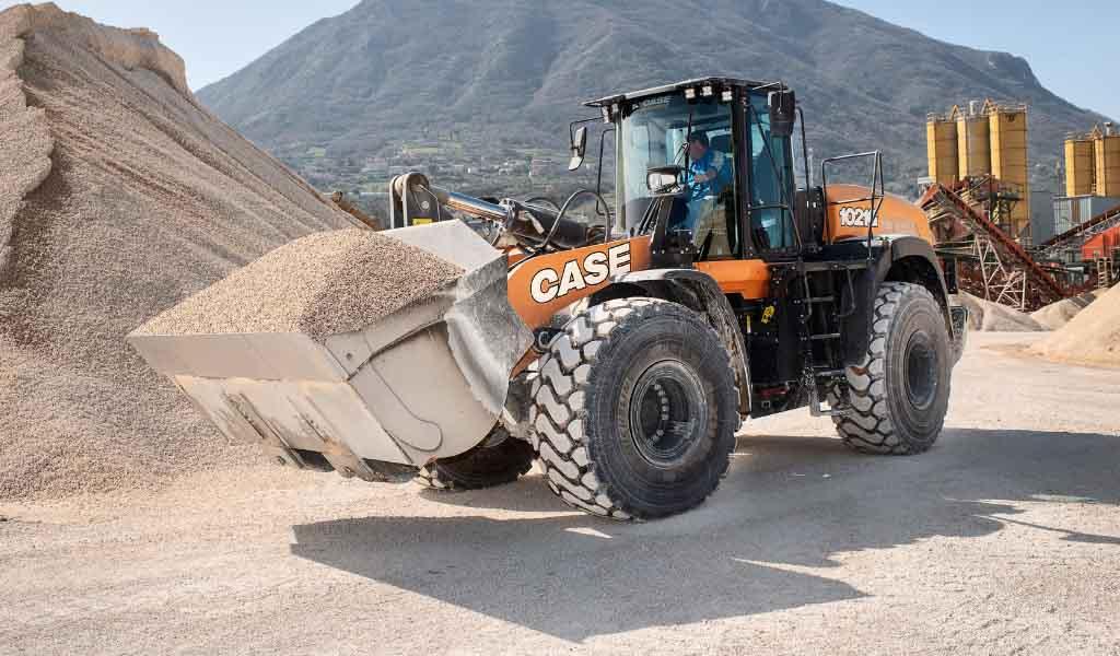 CASE presenta sus nuevas cargadoras de ruedas de la Serie G Evolution