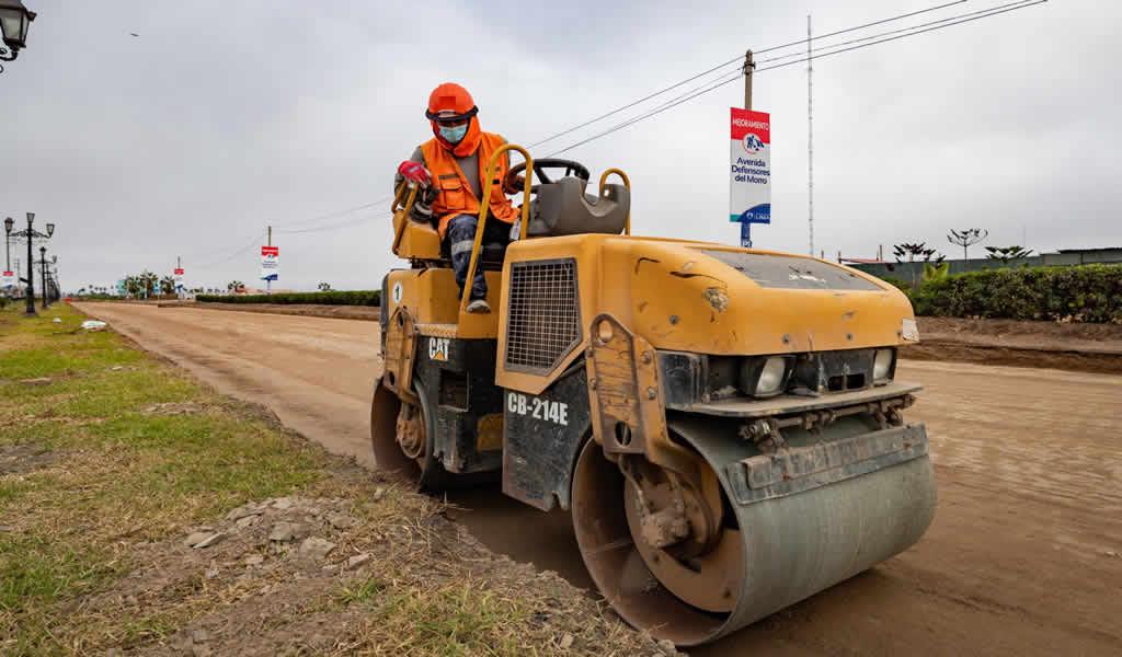 MML invertirá más de s/127 millones en el mejoramiento de pistas y veredas en la av. Defensores del Morro
