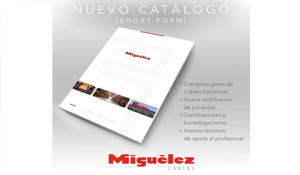 """Miguélez: Ya está disponible el nuevo catálogo """"Short-Form"""" para el sector construcción"""