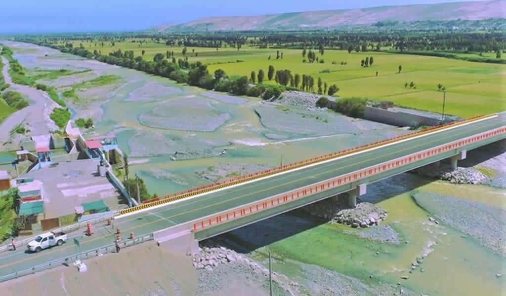Se pone en operación el nuevo Puente Freyre en Arequipa