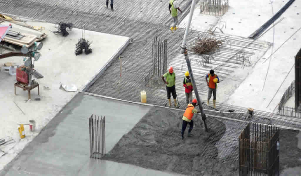 Crean un nuevo concreto que ahorra un 20% del costo de construcción