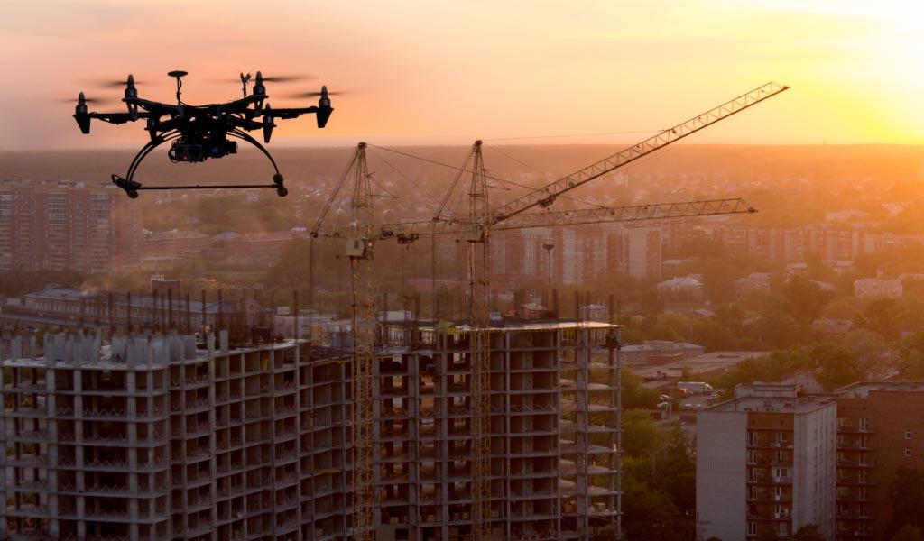 Drones en la construcción: tendencias macroeconómicas