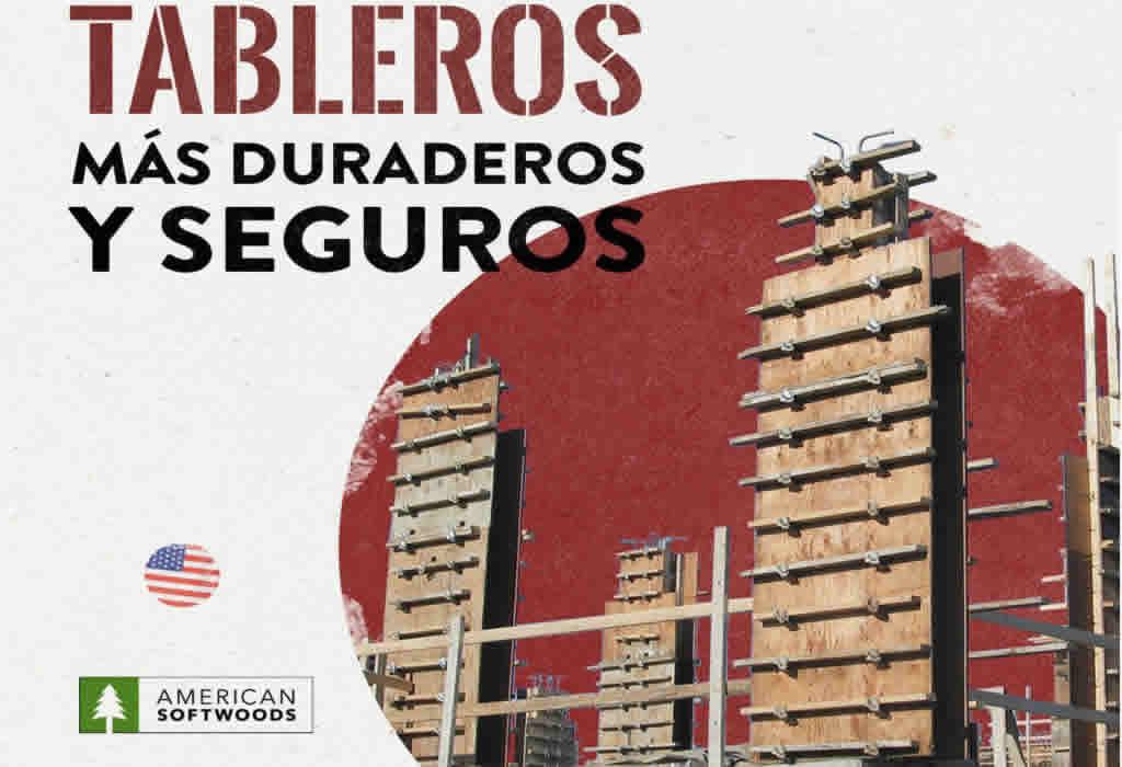 Encofrados de concreto con tableros fenólicos: más duraderos y seguros