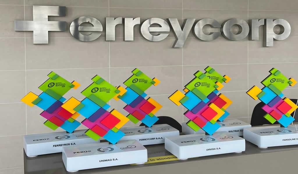 Ferreycorp y cinco de sus empresas reciben Distintivo Empresa Socialmente Responsable