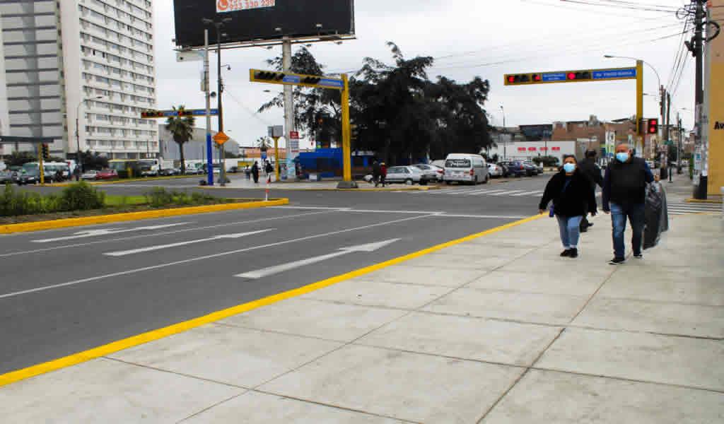 Breña: Municipalidad de Lima realizó trabajos de mantenimiento en puente Tingo María