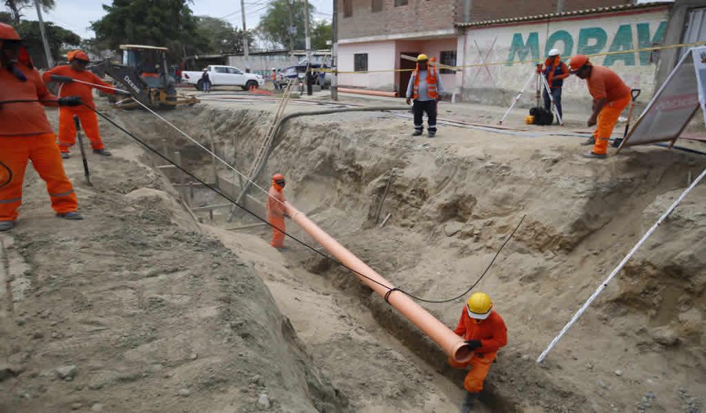 Gobierno concluyó ejecución de 231 obras de agua y saneamiento este año