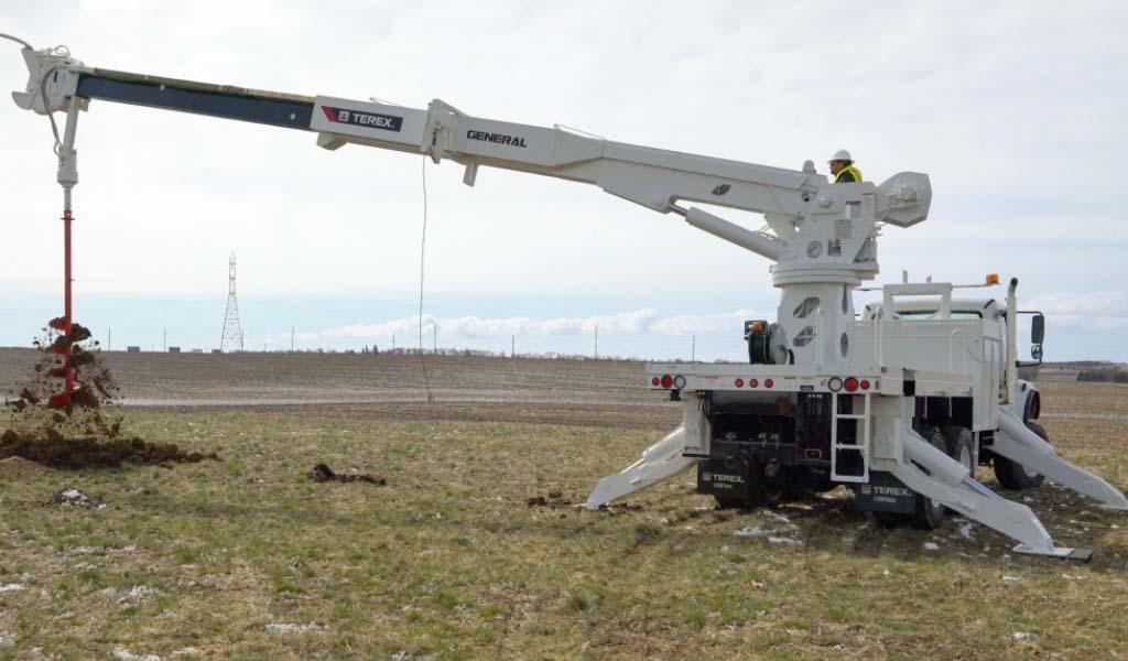 Terex mostrará nuevas torres de perforación para excavadoras, dispositivos aéreos y productos de subestaciones en Utility Expo