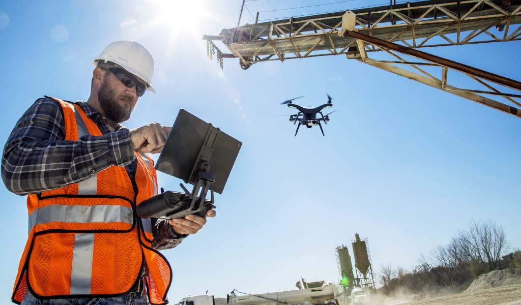 6 beneficios de incorporar la tecnología de drones en el flujo de trabajo de la construcción