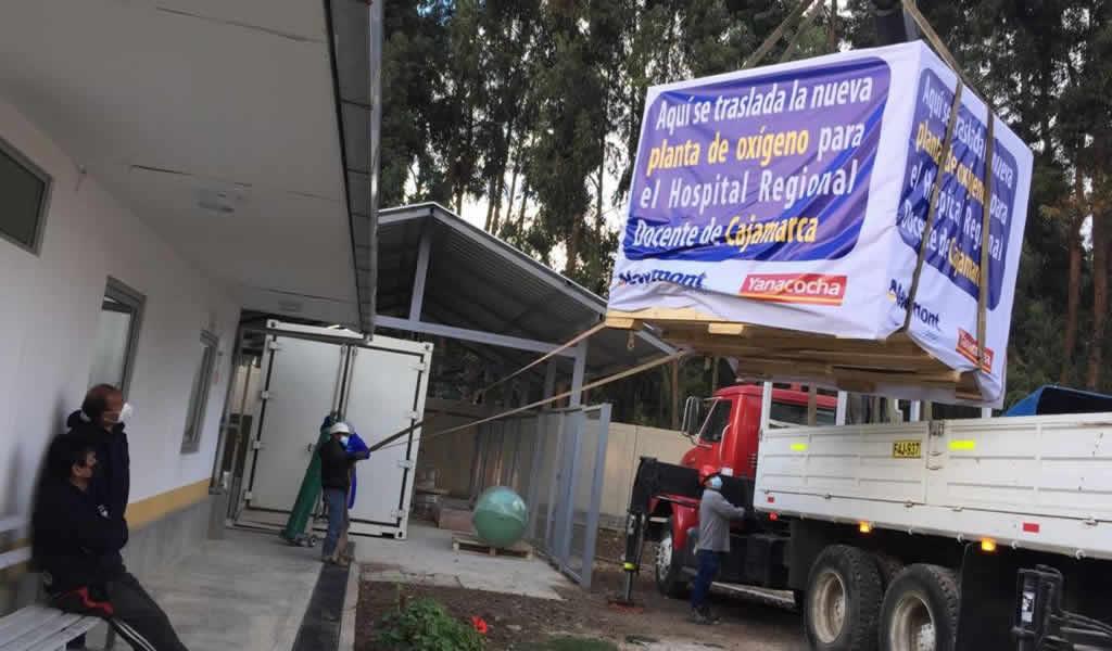 Más oxígeno para Cajamarca