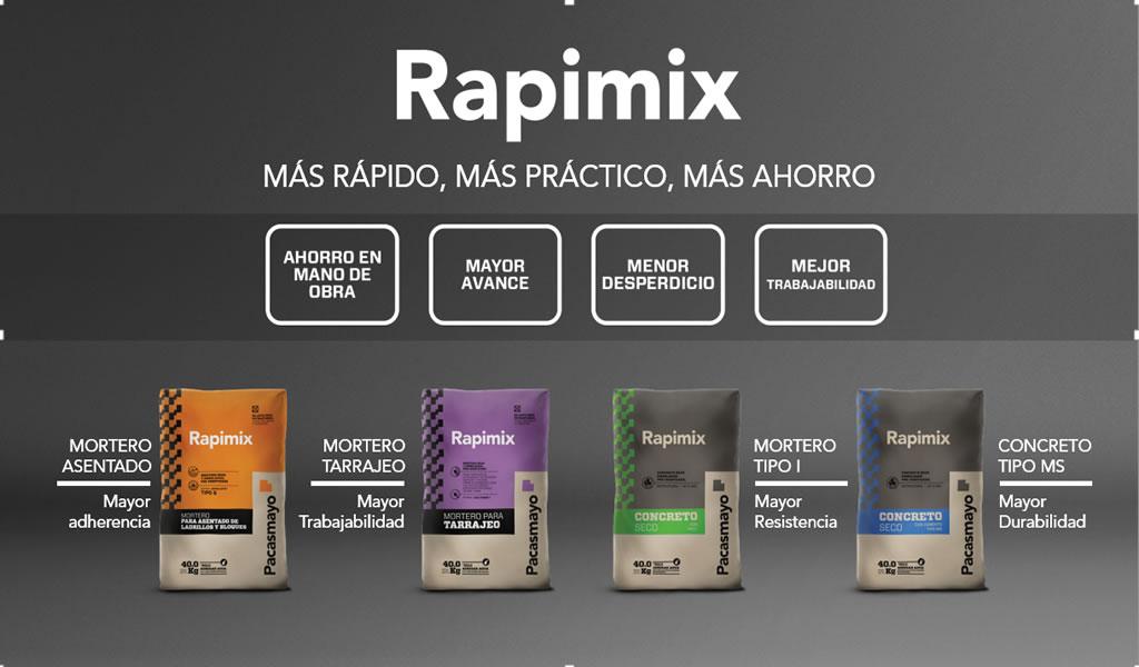 Rapimix: más rápido, más práctico, más ahorro